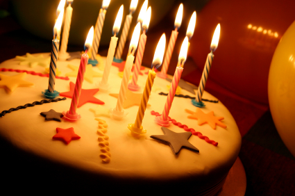 birthday cake, copyright iStockphoto.com/MarcusPhoto1