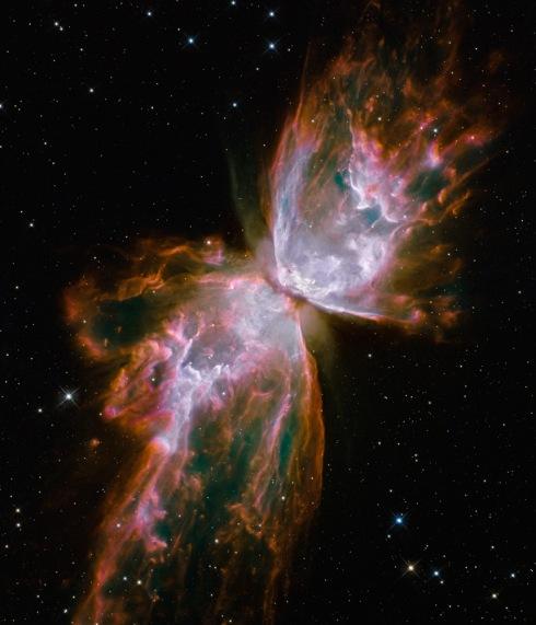 NGC 6302 (Butterfly Nebula, Bug Nebula) Credit: NASA, ESA, and the Hubble SM4 ERO Team
